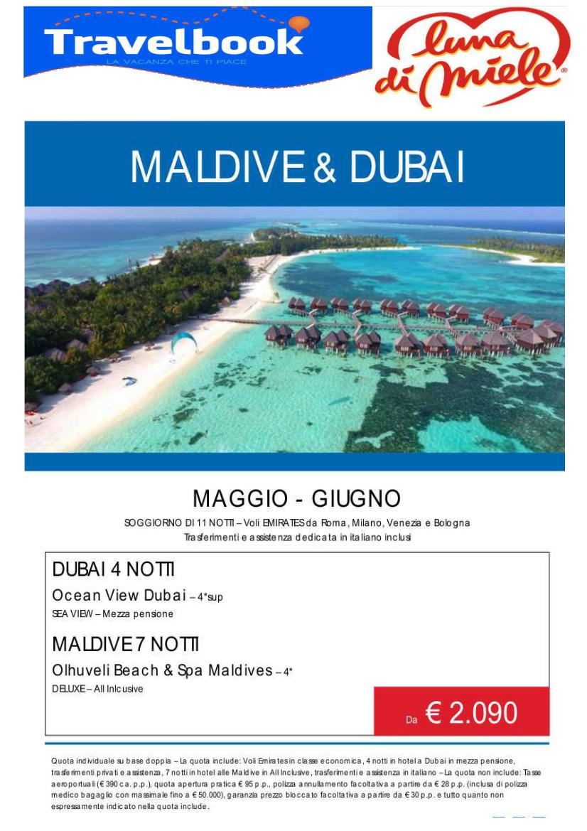 MALDIVE & DUBAI | Agenzia Viaggi Travelbook